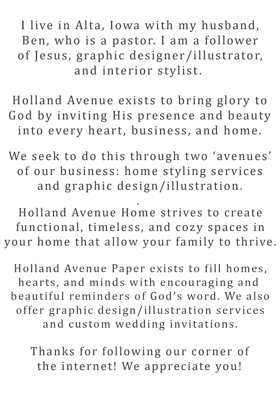 holland-avenue-mission-statement