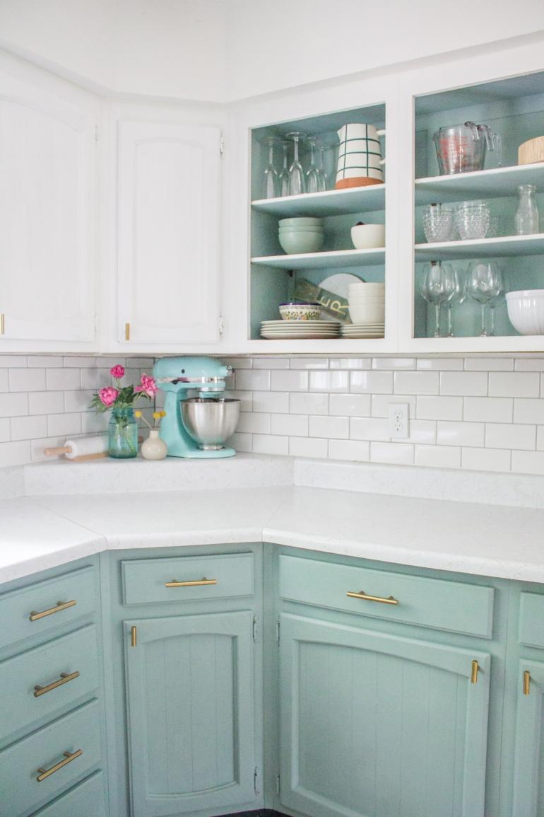 kitchen corner detail
